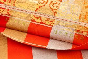 龍村平蔵製 袋帯「円文百虎間道」のサブ4画像