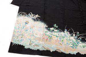西村央作 本加賀友禅絽留袖のサブ1画像