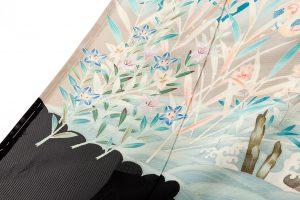 西村央作 本加賀友禅絽留袖のサブ2画像