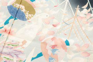 西村央作 本加賀友禅絽留袖地のサブ4画像