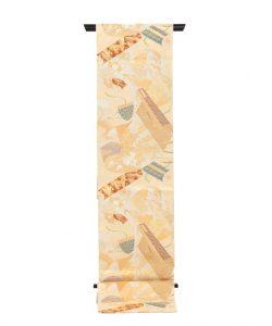 川島織物製  本金箔加良錦袋帯のメイン画像