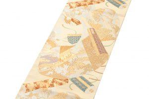 川島織物製  本金箔加良錦袋帯のサブ1画像