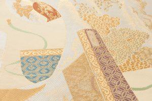 川島織物製  本金箔加良錦袋帯のサブ3画像