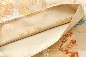 川島織物製  本金箔加良錦袋帯のサブ5画像