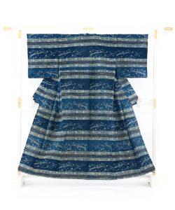 青戸柚美江作 出雲織単衣着物「春光」のメイン画像
