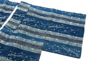 青戸柚美江作 出雲織単衣着物「春光」のサブ1画像