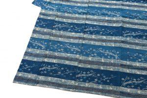 青戸柚美江作 出雲織単衣着物「春光」のサブ2画像