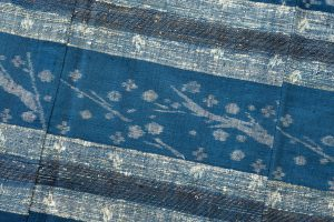 青戸柚美江作 出雲織単衣着物「春光」のサブ3画像