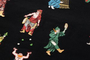 龍村平蔵製 袋帯「弾弓胡舞文」のサブ2画像