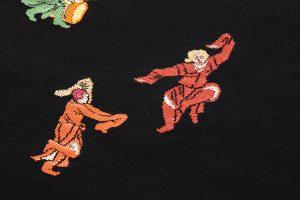 龍村平蔵製 袋帯「弾弓胡舞文」のサブ3画像