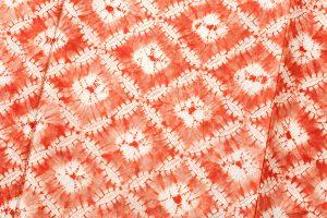 茜染 紬着物のサブ4画像