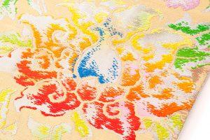 龍村平蔵製 袋帯「松嶋牡丹錦」のサブ2画像