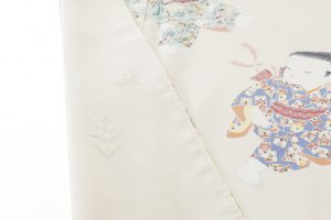 二代目由水十久作 本加賀友禅訪問着「優花」のサブ5画像