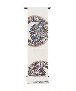 龍村平蔵製 袋帯「芙蓉手花鳥文」のメイン画像