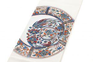 龍村平蔵製 袋帯「芙蓉手花鳥文」のサブ1画像