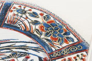 龍村平蔵製 袋帯「芙蓉手花鳥文」のサブ4画像