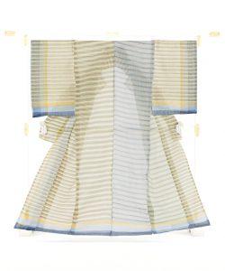 中島三枝子作 宮古上布着物のメイン画像