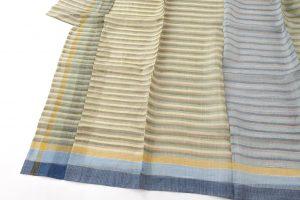 中島三枝子作 宮古上布着物のサブ2画像