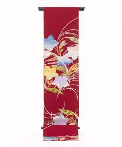 龍村平蔵製 夏袋帯「桔梗尾花」のメイン画像