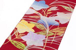 龍村平蔵製 夏袋帯「桔梗尾花」のサブ1画像
