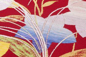 龍村平蔵製 夏袋帯「桔梗尾花」のサブ2画像