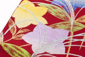 龍村平蔵製 夏袋帯「桔梗尾花」のサブ3画像
