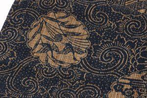科布 藍型染八寸名古屋帯のサブ3画像