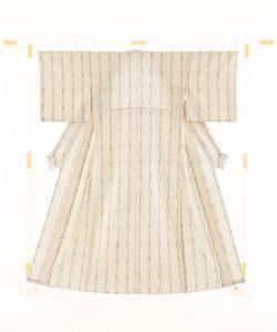 青戸柚美江作 単衣綿着物のメイン画像