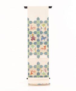 龍村平蔵製 袋帯「土耳古彩釉」のメイン画像