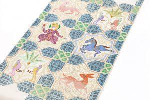 龍村平蔵製 袋帯「土耳古彩釉」のサブ1画像