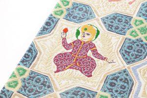 龍村平蔵製 袋帯「土耳古彩釉」のサブ2画像