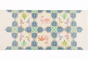 龍村平蔵製 袋帯「土耳古彩釉」のサブ4画像