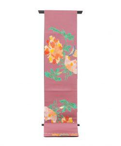 龍村平蔵製 袋帯「九谷牡丹文」のメイン画像