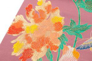 龍村平蔵製 袋帯「九谷牡丹文」のサブ2画像