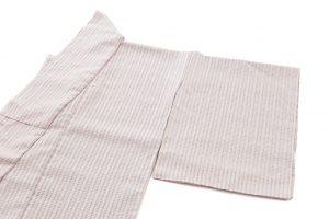 石月まり子作 貝紫しじら織着物のサブ1画像