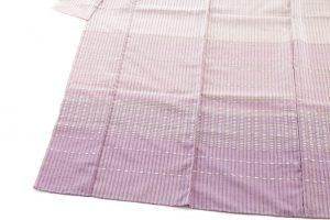 石月まり子作 貝紫しじら織着物のサブ2画像