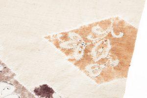 森健持作 辻が花染紬名古屋帯のサブ4画像