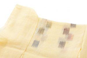 中島三枝子作 宮古上布着物地のサブ2画像
