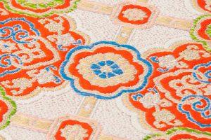 龍村平蔵製 袋帯「乾隆蜀紅錦」のサブ3画像