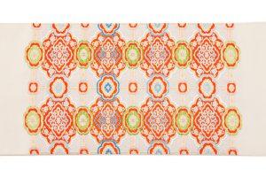龍村平蔵製 袋帯「乾隆蜀紅錦」のサブ4画像