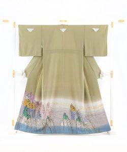 中町博志作 本加賀友禅色留袖のメイン画像
