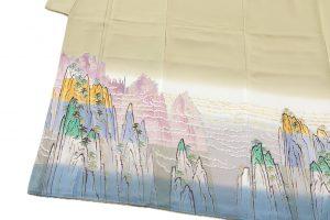 中町博志作 本加賀友禅色留袖のサブ1画像
