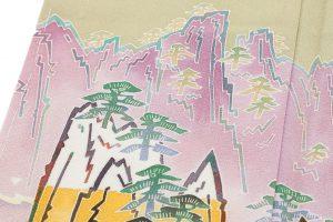 中町博志作 本加賀友禅色留袖のサブ4画像
