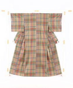 綾の手紬工房製 綾の手紬着物のメイン画像
