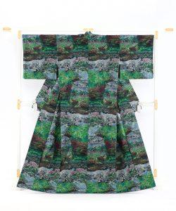 恵大島紬織物製 大島紬「兼六園の風景」のメイン画像