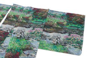 恵大島紬織物製 大島紬「兼六園の風景」のサブ1画像