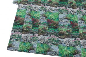恵大島紬織物製 大島紬「兼六園の風景」のサブ2画像