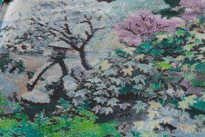 恵大島紬織物製 大島紬「兼六園の風景」のサブ6画像