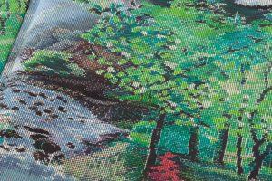 恵大島紬織物製 大島紬「兼六園の風景」のサブ7画像