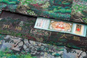 恵大島紬織物製 大島紬「兼六園の風景」のサブ8画像